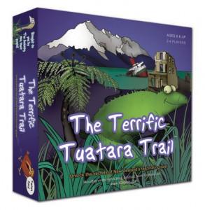Terrific Tuatara Trail box