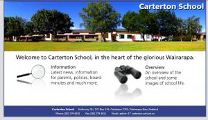 Carterton School website