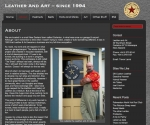 Leather and Art website