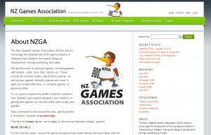 NZ Games website