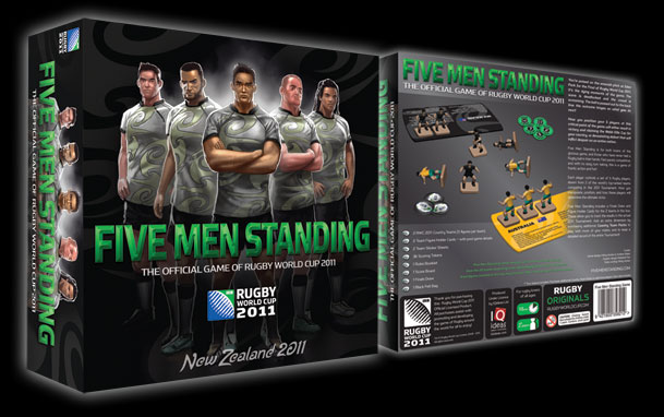 Five Men Standing – the official game of Rugby World Cup 2011