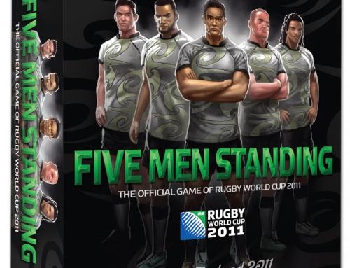 Five Men Standing