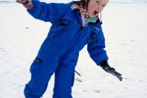 Meg - Snow in Carterton