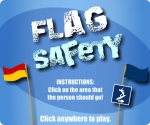Newcastle Council - Flag Safety game