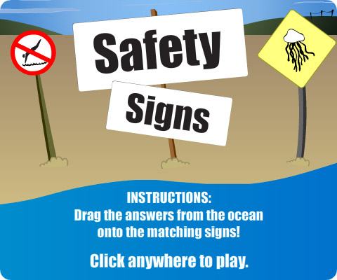 Newcastle Council - Sign Safety game