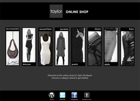 Taylor Boutique online shop