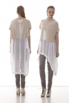 Finch Cardi over Oblique tunic and Integral Pants