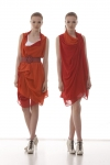Reconcile Dress - persimmon
