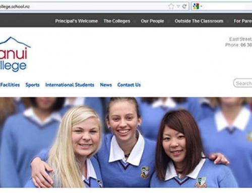 Kuranui College website