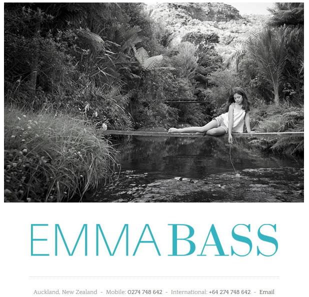 Emma Bass website