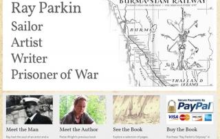 Ray Parkin's Odyssey - Nectarine Website Portfolio