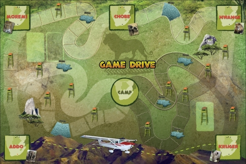 GameDrive gameboard- with different path options