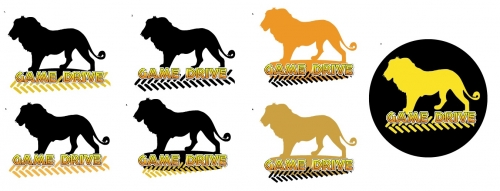 Game Drive Logo Variations