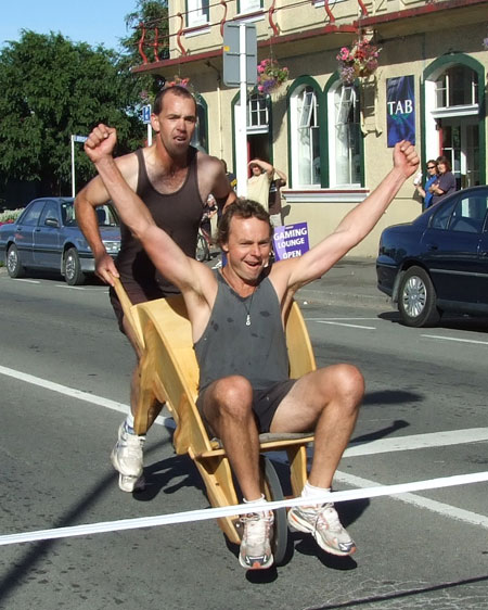 Wheelbarrow Race – updated website