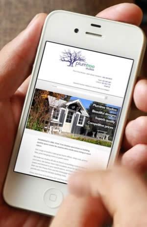 Nectarine Website Portfolio - Plum Tree Studios