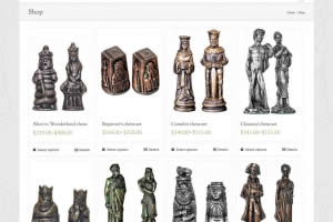 Chess Craft - Chess Sets - Shop Page - Website By Nectarine
