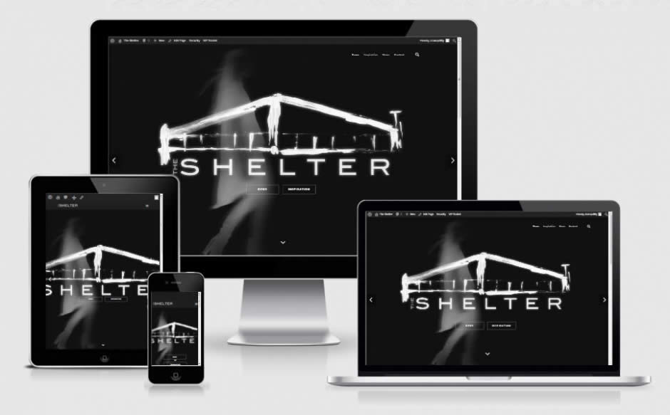 The Shelter - Responsive Website By Nectarine