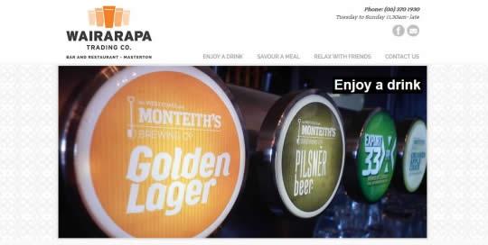 Wairarapa Trading Company - Featured Website By Nectarine