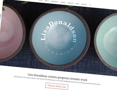 Lisa Donaldson Ceramics website