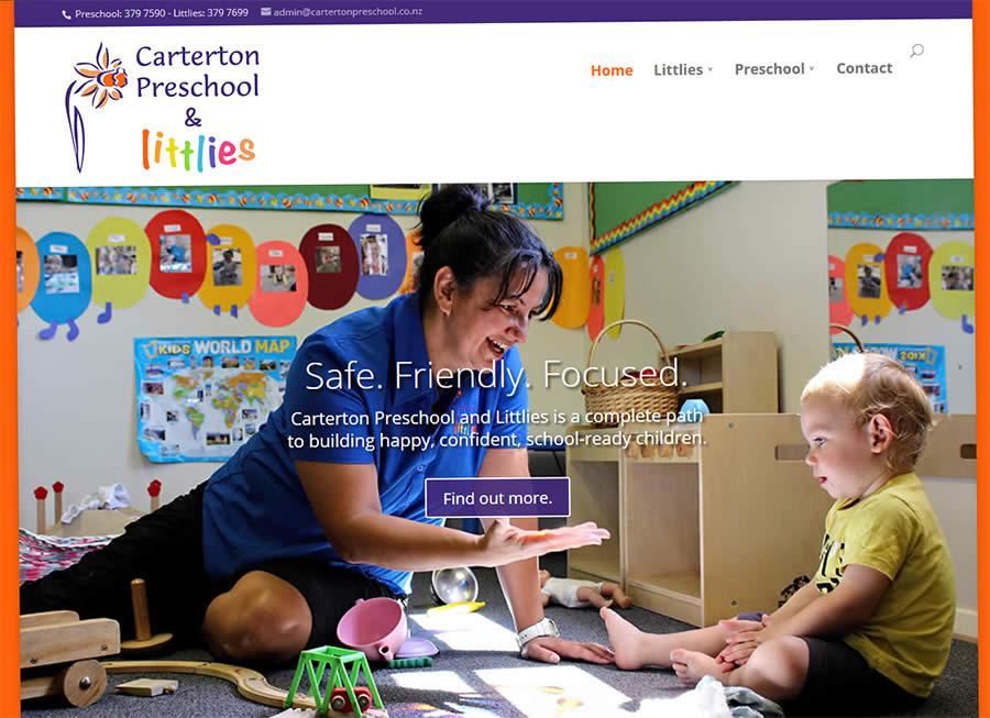Caterton Preschool Nectarine Website Portfolio 3