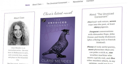 Clare Mendes Home Page Featured Image