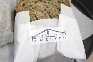 Shelter Cafe Sticker