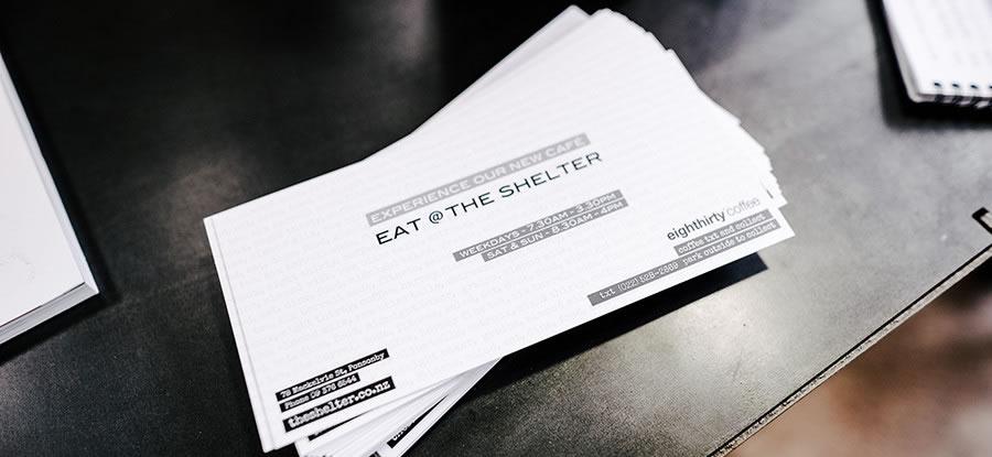 Eat @ The Shelter : Media