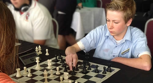 Nectarine Kuranui At Chess Nationals Auckland 2015 Sam