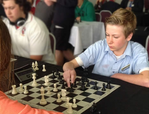 Nectarine sponsors local chess team at Nationals