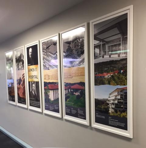 Bowen Hospital Installation – added panel