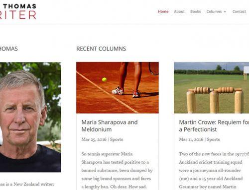 Paul Thomas website