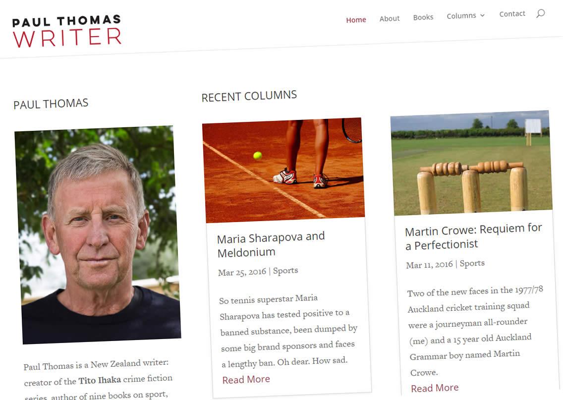 Paul Thomas Nectarine Website Portfolio Ja