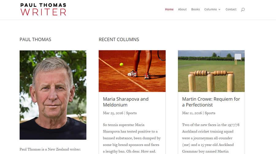 Paul Thomas Nectarine Website Portfolio