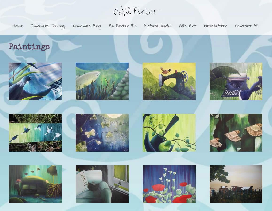 Ali Foster Website By Nectarine Alifoster Art Copy