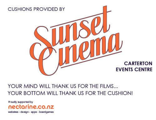 Nectarine supports Sunset Cinema Carterton