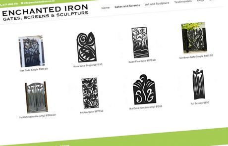 Enchanted Iron Gates Screens Featured