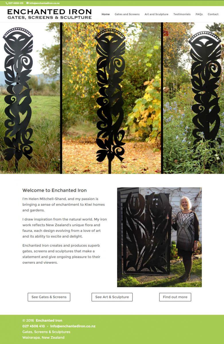 Enchanted Iron Gates Screens Home