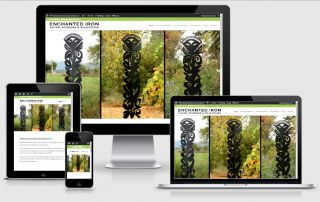 Enchanted Iron Gates Screens Responsive