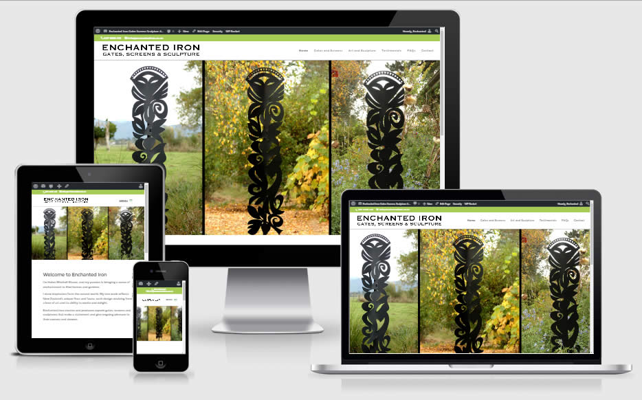 Enchanted Iron – Gates, Screens and Sculpture – website