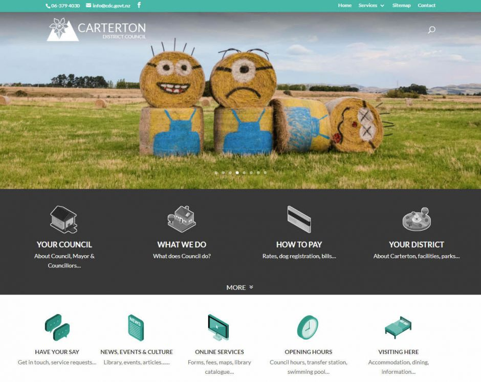 Carterton District Council Home Nectarine Website Portfolio