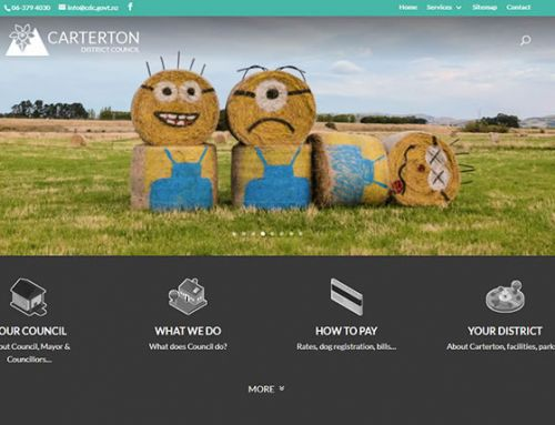 Carterton District Council website