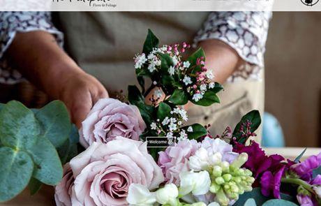 He Putiputi Flowers Home Nectarine Website Portfolio F