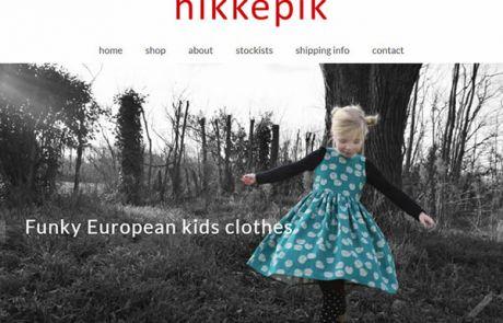 Hikkepik Clothing Home Nectarine Website Portfolio F