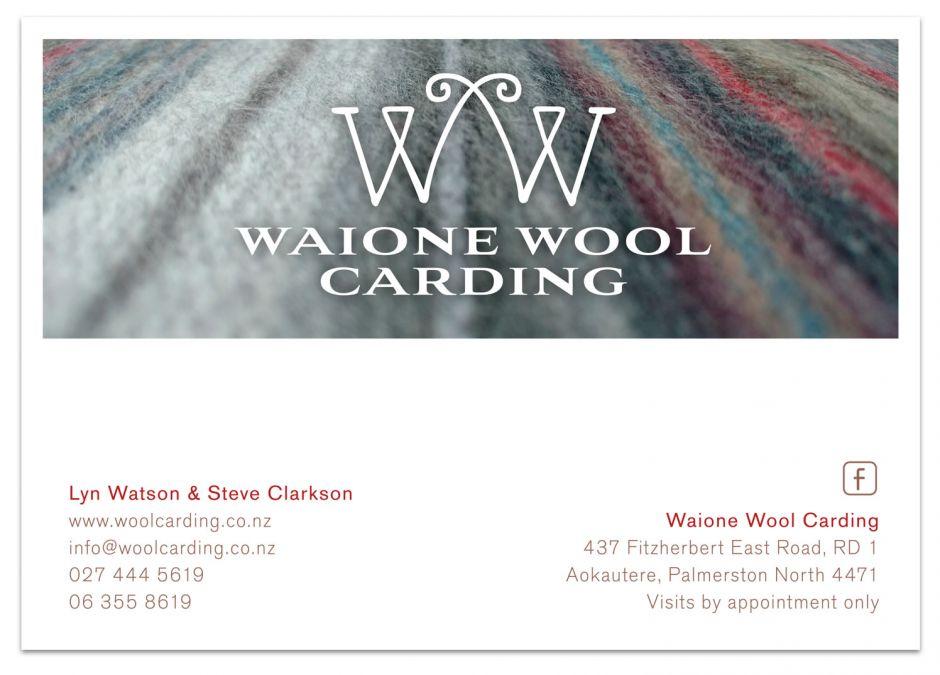 Waione Wool Carding Sticker