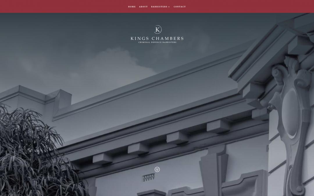 Kings Chambers : Logo, Website & Photography