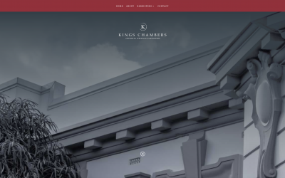 Kings Chambers : Logo, Website & Photography