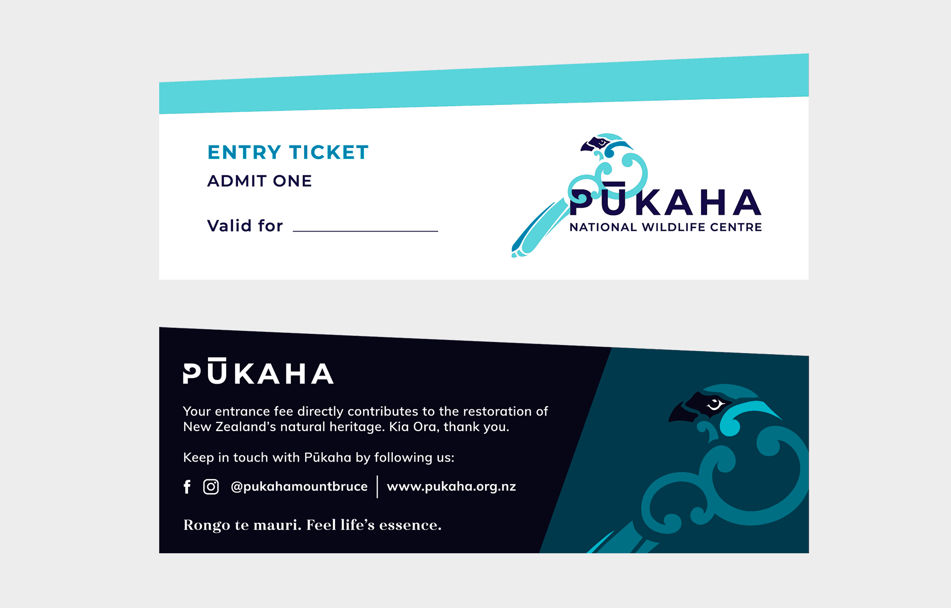 Pūkaha Entry Ticket