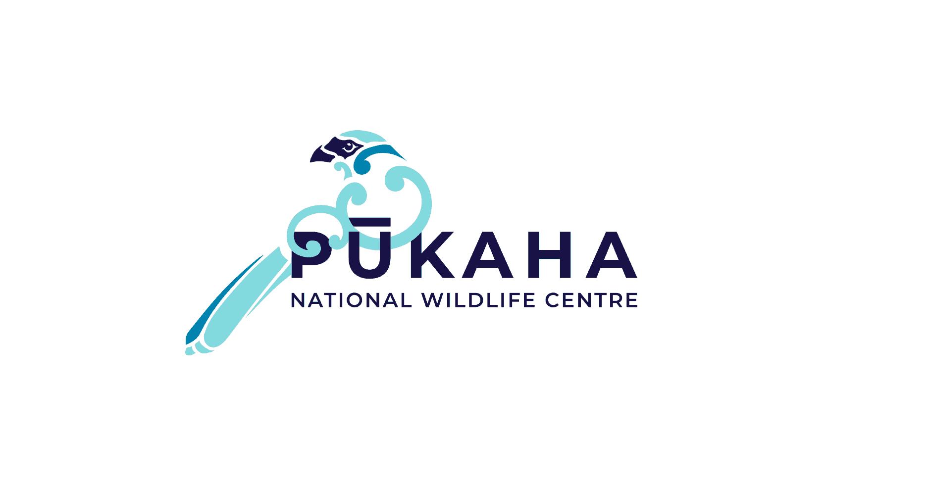 Pūkaha Logo White