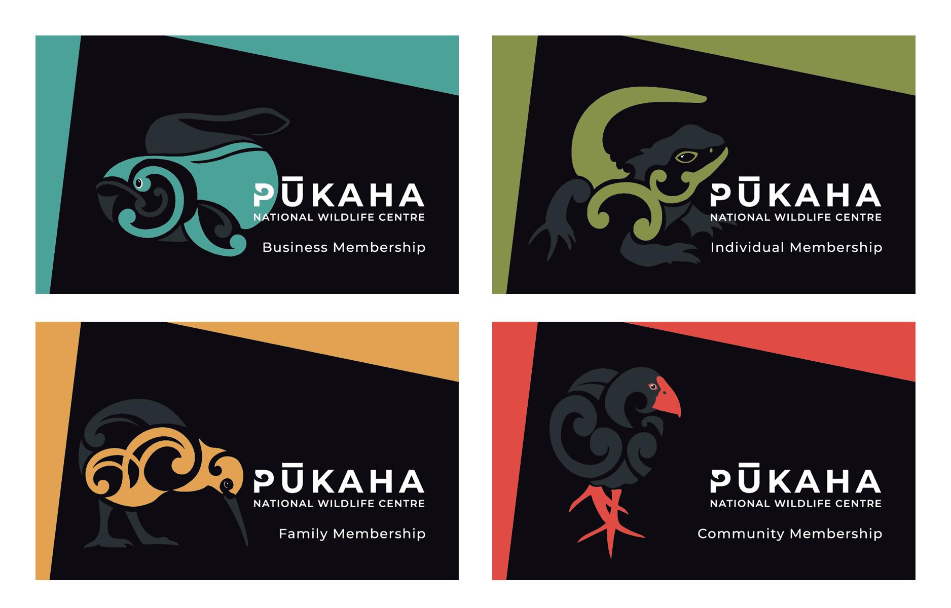 Pūkaha Membership Cards