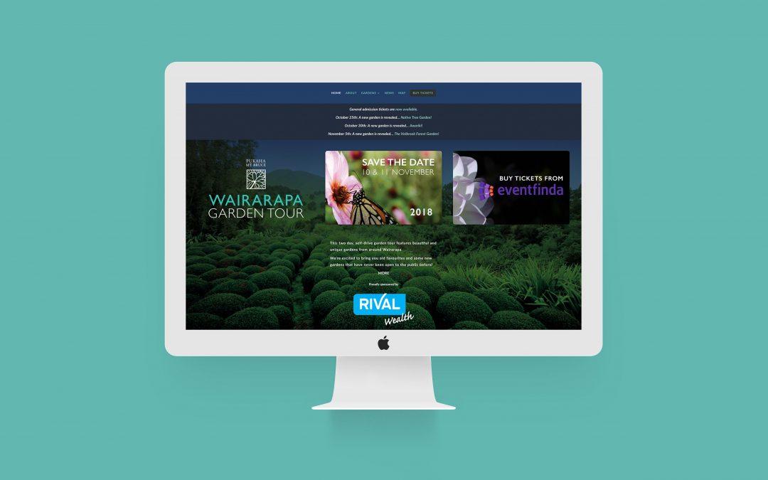 Wairarapa Garden Tour : Website